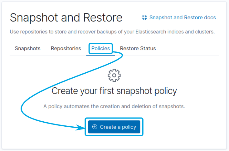 Automated Snapshots in Elastic