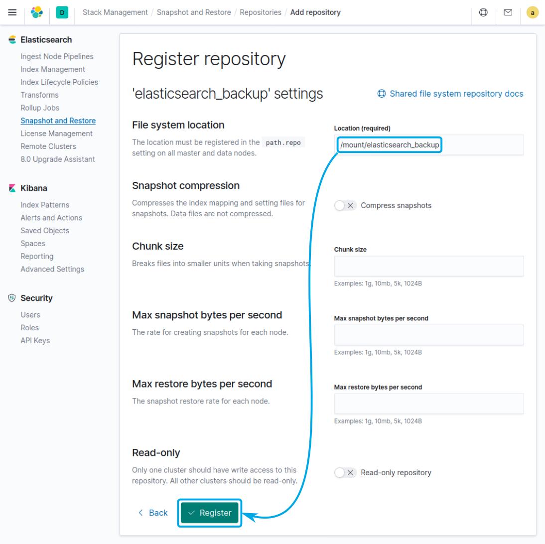 Register repository Wazuh tutorial
